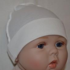 Шапочка для новорожденных 003
