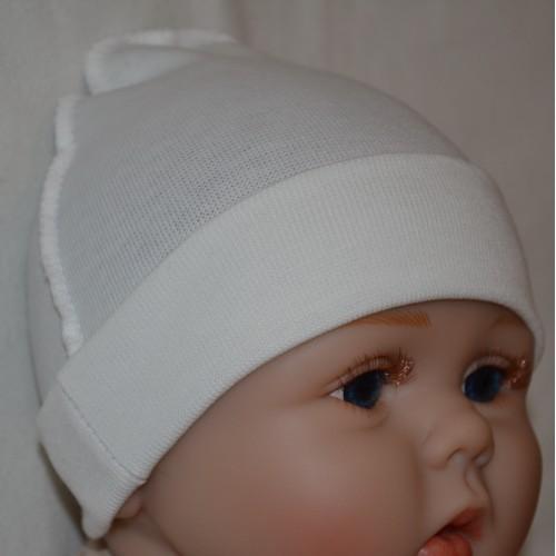 Купить оптом Шапочка для новорожденных 003