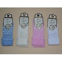 Носочки с тормозками  (махровые)