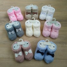 Носочки-пинетки для новорожденных
